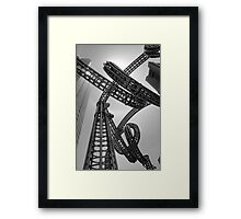 Yokohama Sculpture Framed Print