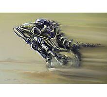 Gator Rider Photographic Print