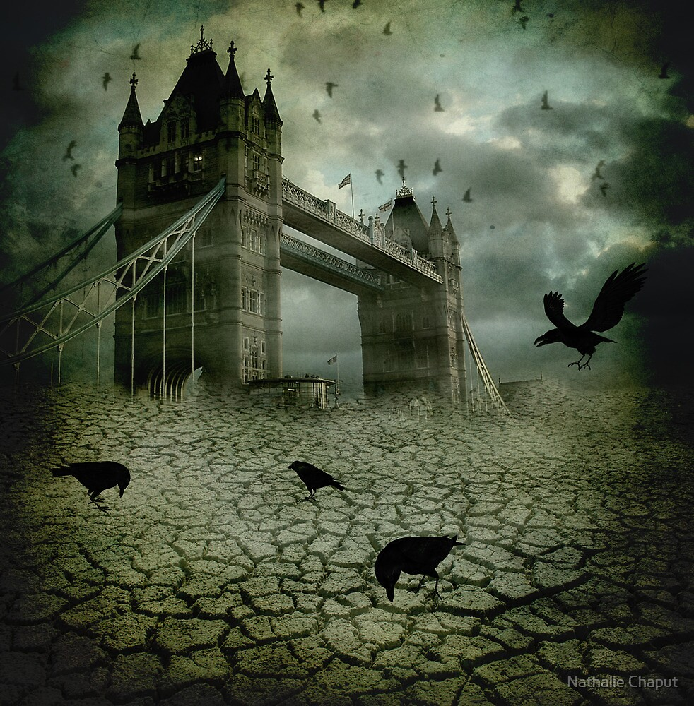 The Ravens Have Left the Towers by Nathalie Chaput