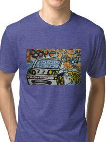 Street art - Barcelona style Tri-blend T-Shirt