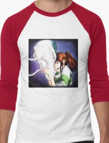 Spirited Away - Chihiro & Haku Men's Baseball ¾ T-Shirt