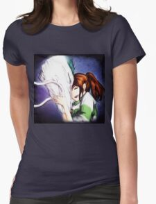 Spirited Away - Chihiro & Haku Womens Fitted T-Shirt