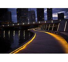 Jim Stynes Bridge Melbourne Vic Australia Photographic Print