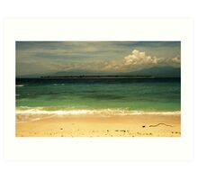 Sliver - Gili Air, Indonesia Art Print