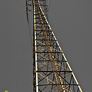 Electrical Power Tower, New Orleans USA by GJKImages