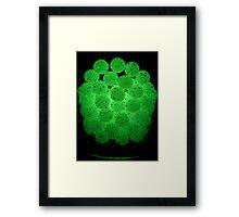 Bubble, Bubble Toil 'n' Trubble Framed Print