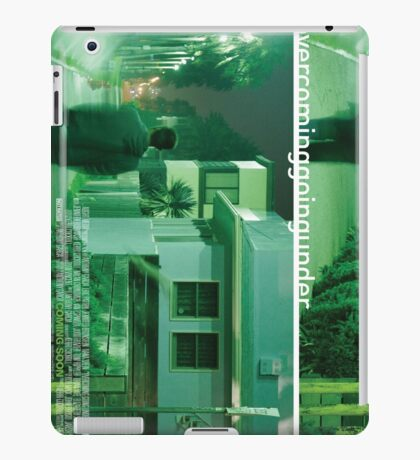 Overcoming Going Under Poster 2 iPad Case/Skin