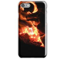 Macro Flame iPhone Case/Skin