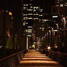Melbourne boardwalk by Ian Stevenson
