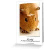 Honey - Guinea Pig Greeting Card