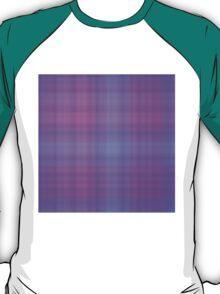 Blue-Rose Plaid T-Shirt
