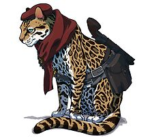Ocelot  by Tappina95