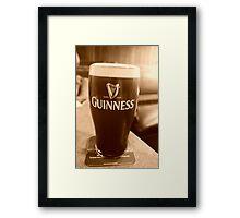 250 years of Guinness Framed Print