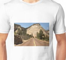 Road To Checkerboard Rock © Unisex T-Shirt