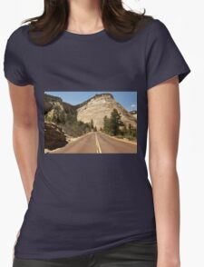 Road To Checkerboard Rock © Womens Fitted T-Shirt