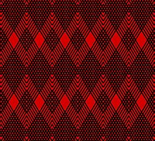 red-black-pattern by dedoma