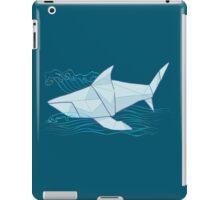 Origami Chomp Chomp On Blue iPad Case/Skin