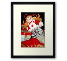 Old Toys at Christmas Framed Print