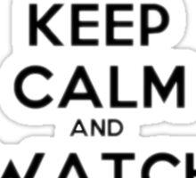 Keep calm and watch Orphan Black Sticker