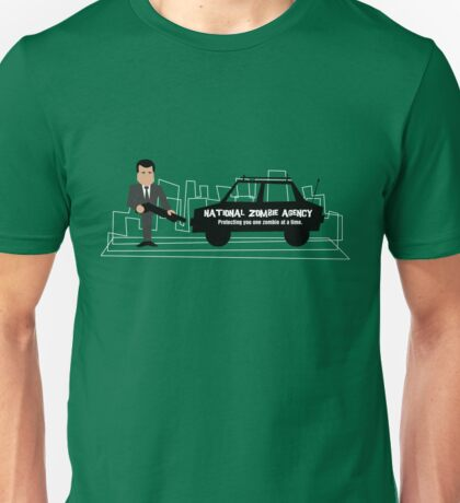 National Zombie Agency T-Shirt