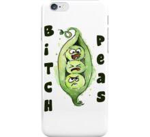 Bitch Peas 2 iPhone Case/Skin