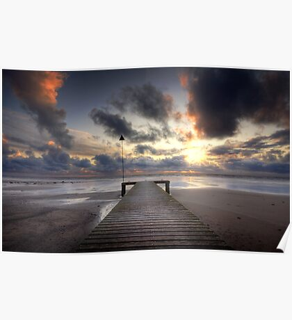 Sea Scale Beach Poster