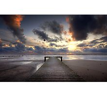 Sea Scale Beach Photographic Print