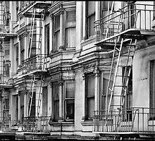 Allison Hotel (Black & White) by Patrick T. Power
