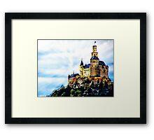 Castle On The Rhine River  Framed Print