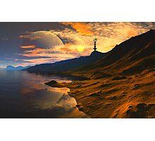 Qualar's Sun Photographic Print