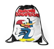 woody woodpacker Drawstring Bag