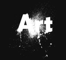 ART 2 (White) Baby Tee