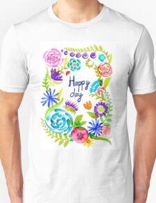 Watercolor floral01 T-Shirt
