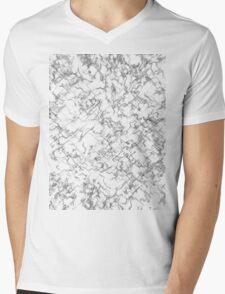 Shade-Wire Mens V-Neck T-Shirt