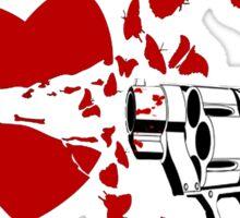 Heart Break Sticker