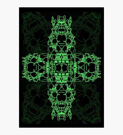 Matrix Characters Photographic Print