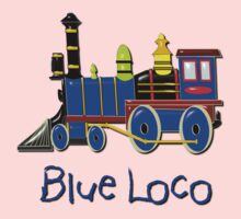 Kids Blue Loco design Kids Tee
