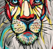 Psychedelic Lion Sticker