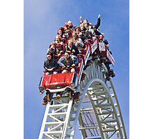 Stealth On Top - Thorpe Park Photographic Print