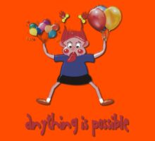 Anything is Possible design Kids Clothes