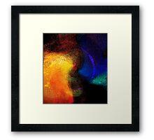 cosmic union...... atmospheric love affair    Framed Print