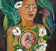 Mother and Child by Ruth Olivar Millan by Ruth Olivar Millan