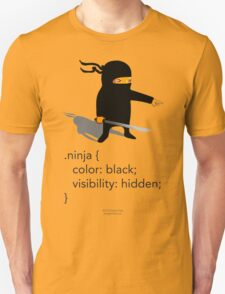 Geek Tee - CSS Jokes - Ninja T-Shirt