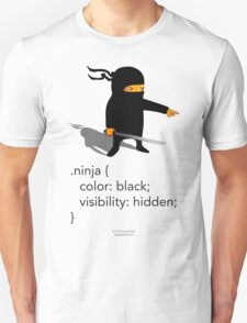 Geek Tee - CSS Jokes - Ninja T-Shirt
