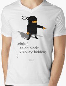 Geek Tee - CSS Jokes - Ninja Mens V-Neck T-Shirt