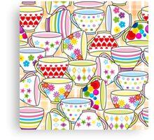 Tea or Coffee Cup Canvas Print