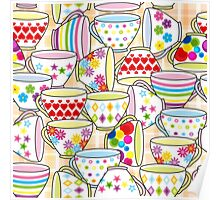 Tea or Coffee Cup Poster