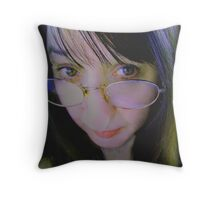 The Silent Type Throw Pillow