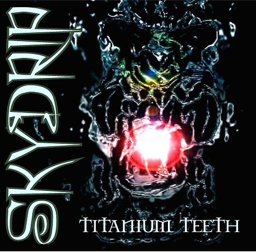 SKYDRIP Titanium Teeth album cover art by SKYDRIP