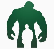 the incredible hulk bruce banner comic book fan made shirt Kids Clothes